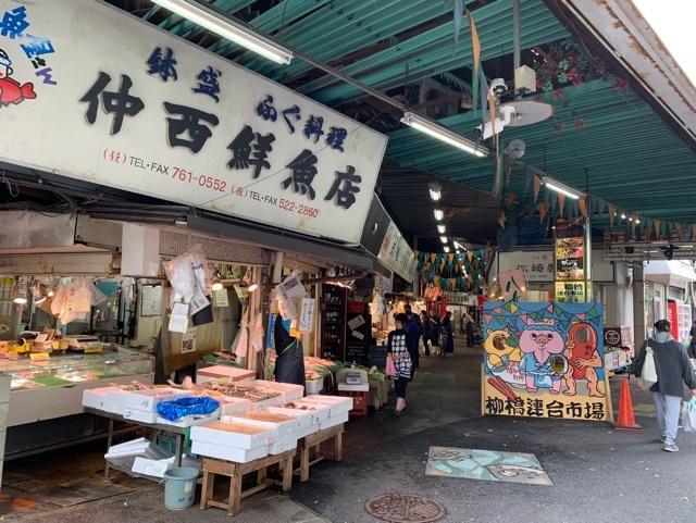 柳橋市場鮮魚店