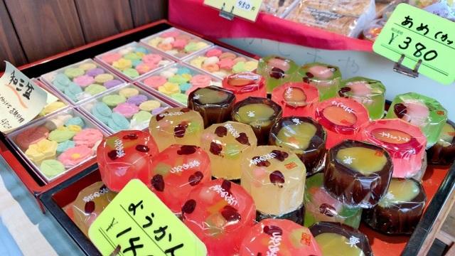 柳橋市場の和菓子