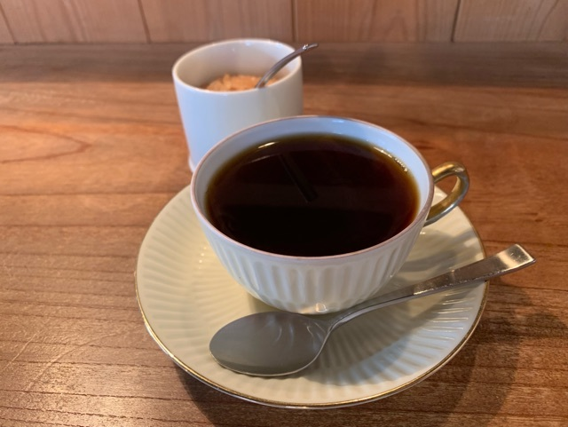 ドリップされたコーヒー