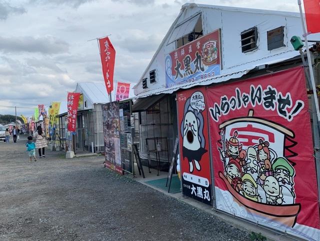 福岡の牡蠣小屋